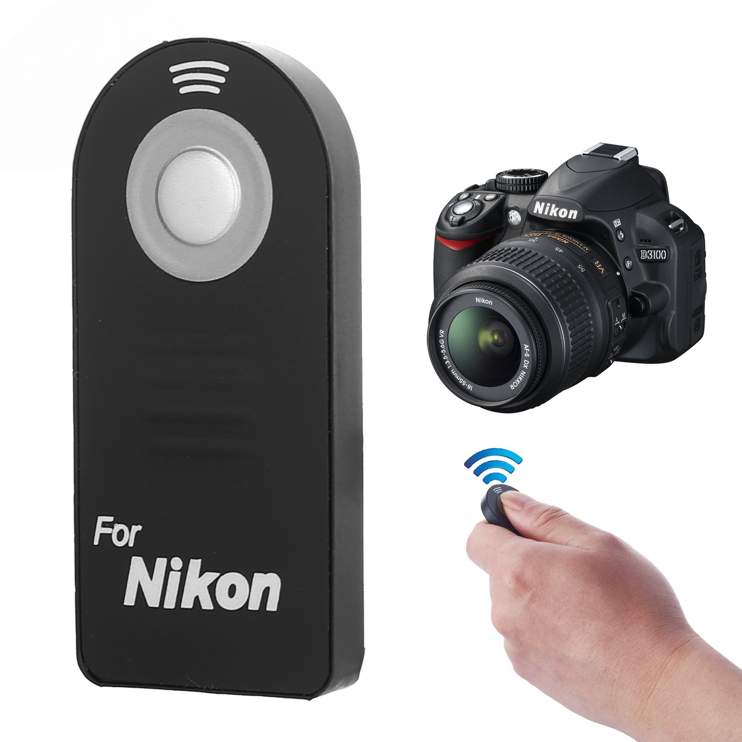 Cheap Remote Nikon D40 Find Deals On Line At Where To Get Parts Diagram For A D5000 Slr With Dx Vr Afs Quotations Crazefoto Wireless Control Shutter Release D5300 D3200 D5100 D7000