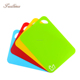 China Manufacturer Custom Made Plastic Cutting Boards Chopping Board Mat, Cooking Concepts Flexible Cutting Boards for Kitchen