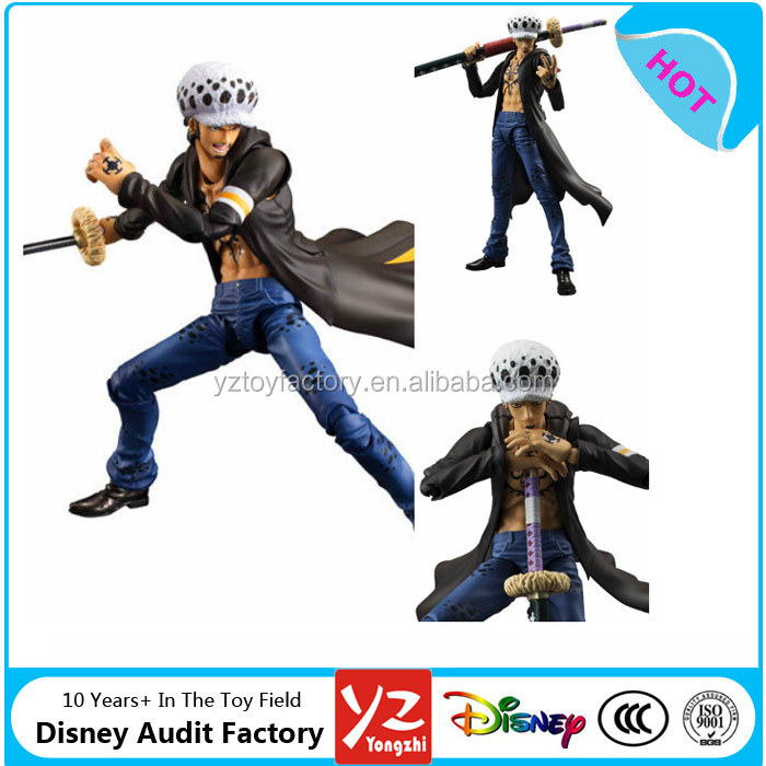New in box One Piece POP Trafalgar Law Variable Hero 18cm Action Figure