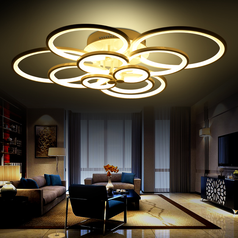 Ceiling Light For Living Room: Personalized Led Ceiling Light Living Room Lights Modern
