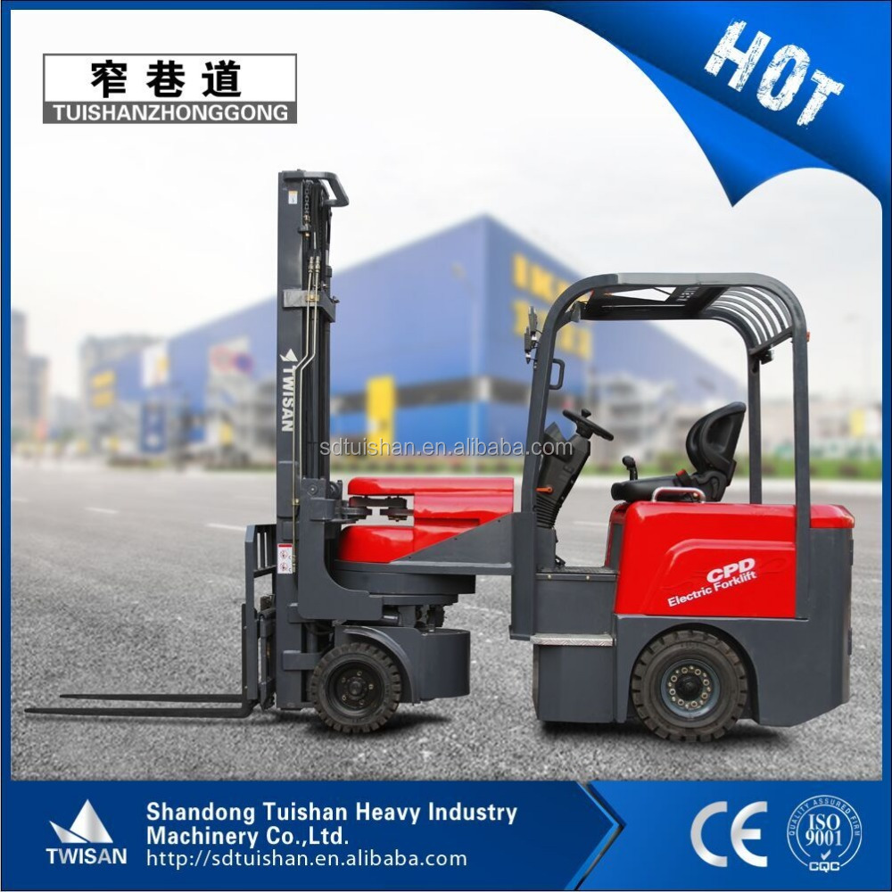 China brand new articulated VNA electric forklift trucks with low price for sale