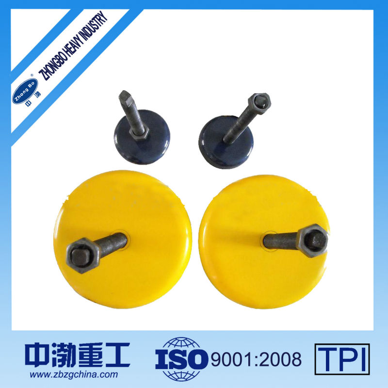 Yellow Vibration-damping Machine Mount - Great Wall Type Iron pada