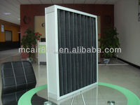 2015 alibaba china panel pre Activated Carbon filter high quality air filter clean room
