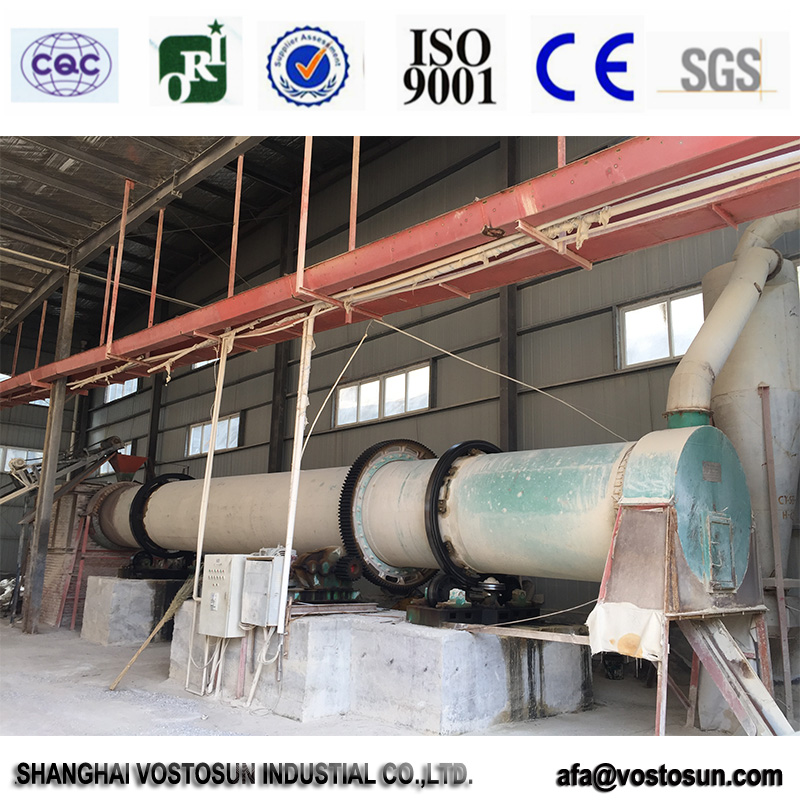 Nice craft industrial rotary dryer gypsum sold to Middle East and Indonesia