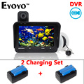 Eyoyo Original 20m Professional Fish Finder DVR Video Recording 6 Infrared LED Underwater Fishing Camera Extra