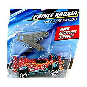 Hot Wheels Speed Racer 1:64 Die Cast Car Prince Kabala with Saw Blades