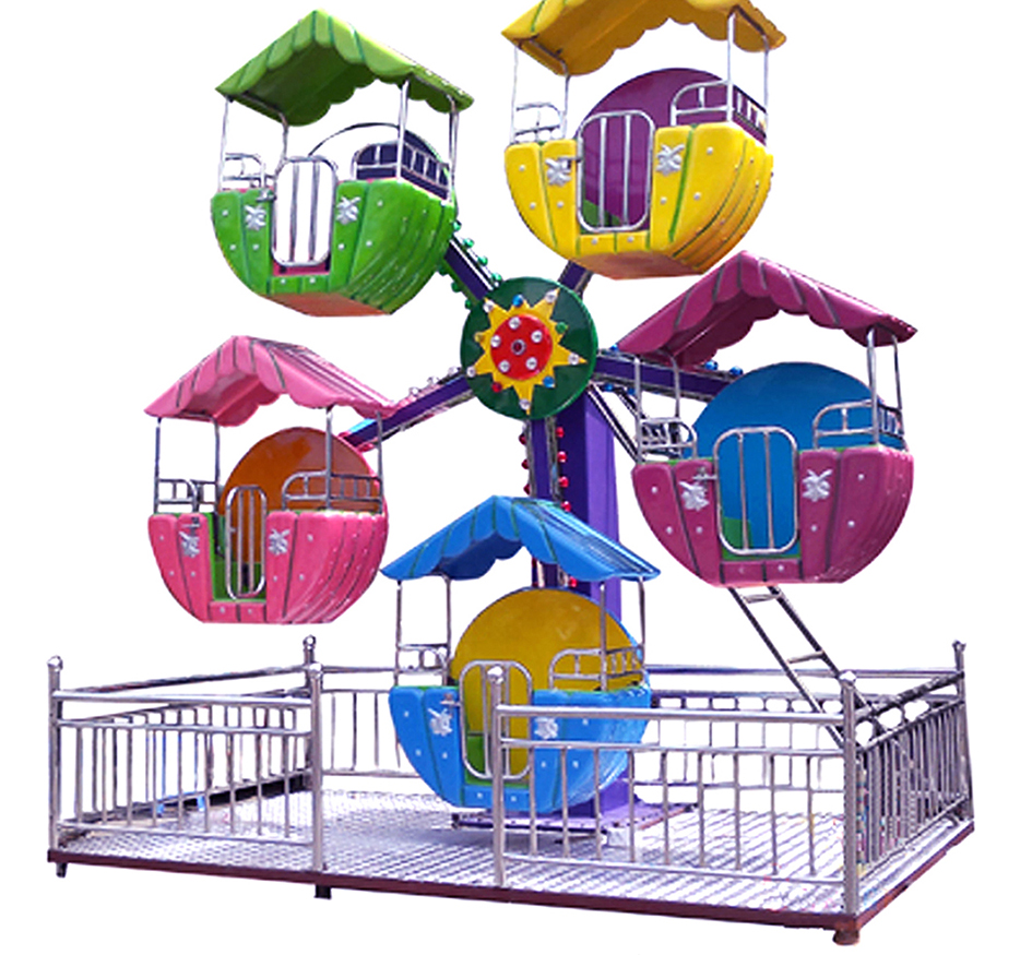 kids games 2016 hot sale products mini ferris wheel certified by CE and ISO9001