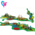 HAT-17 Your Best Choose Community Amusement Outdoor Playground Slide Equipment