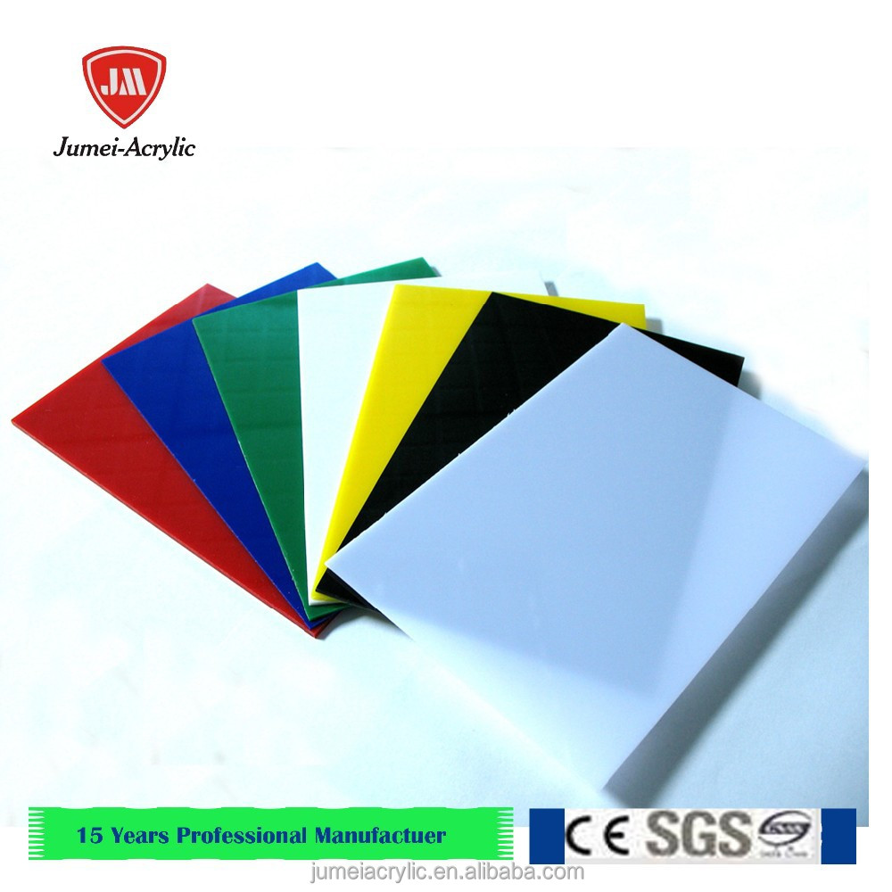 transparent and color Plexiglass Sheet / Perspex board/Organic acrylic Glass