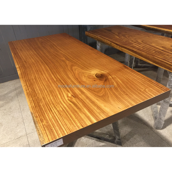 Dining Room Furniture Wholesale Finished Straight Shape Dining Table