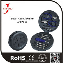 Factory Directly High Quality Tyre Shape Gift Tool Kit For Promotion