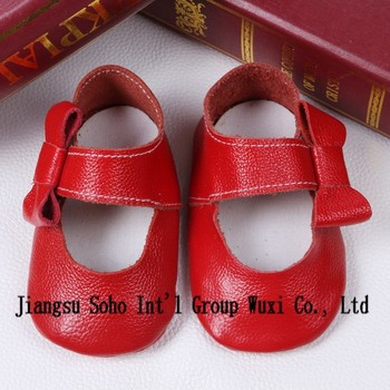 d7ffcc3743e9a side bow tie cute baby girl leather shoes, girl moccasin shoes, fancy baby  girls