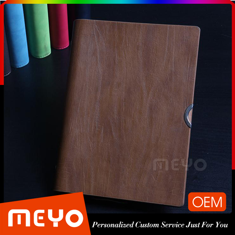 Classic PU Leather Blank Pages Notebook Journal Diary
