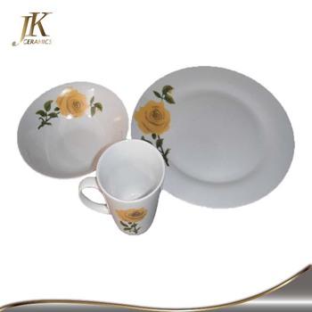 Dining Ware Sets With Custom Design, Fine Porcelain Dinner Sets For  Restaurant