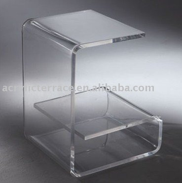 courbe acrylique fin table table basse id de produit 387488373. Black Bedroom Furniture Sets. Home Design Ideas