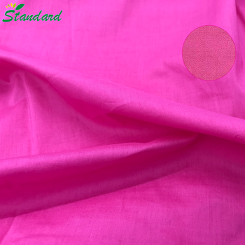 68gsm 100% cotton plain dyed high density high count poplin fabric wholesale for women dress