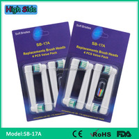 Electric Toothbrush Heads Replacement SB17A Precision Clean Toothbrush Changeable Head
