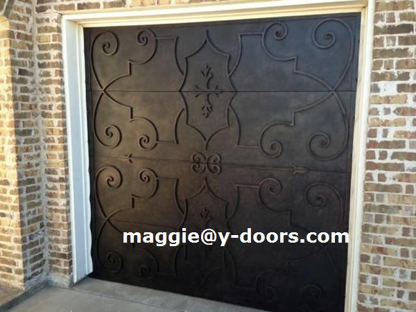 sezionale in ferro battuto garage pannello porta per automatico apri motore elettrico porta per. Black Bedroom Furniture Sets. Home Design Ideas