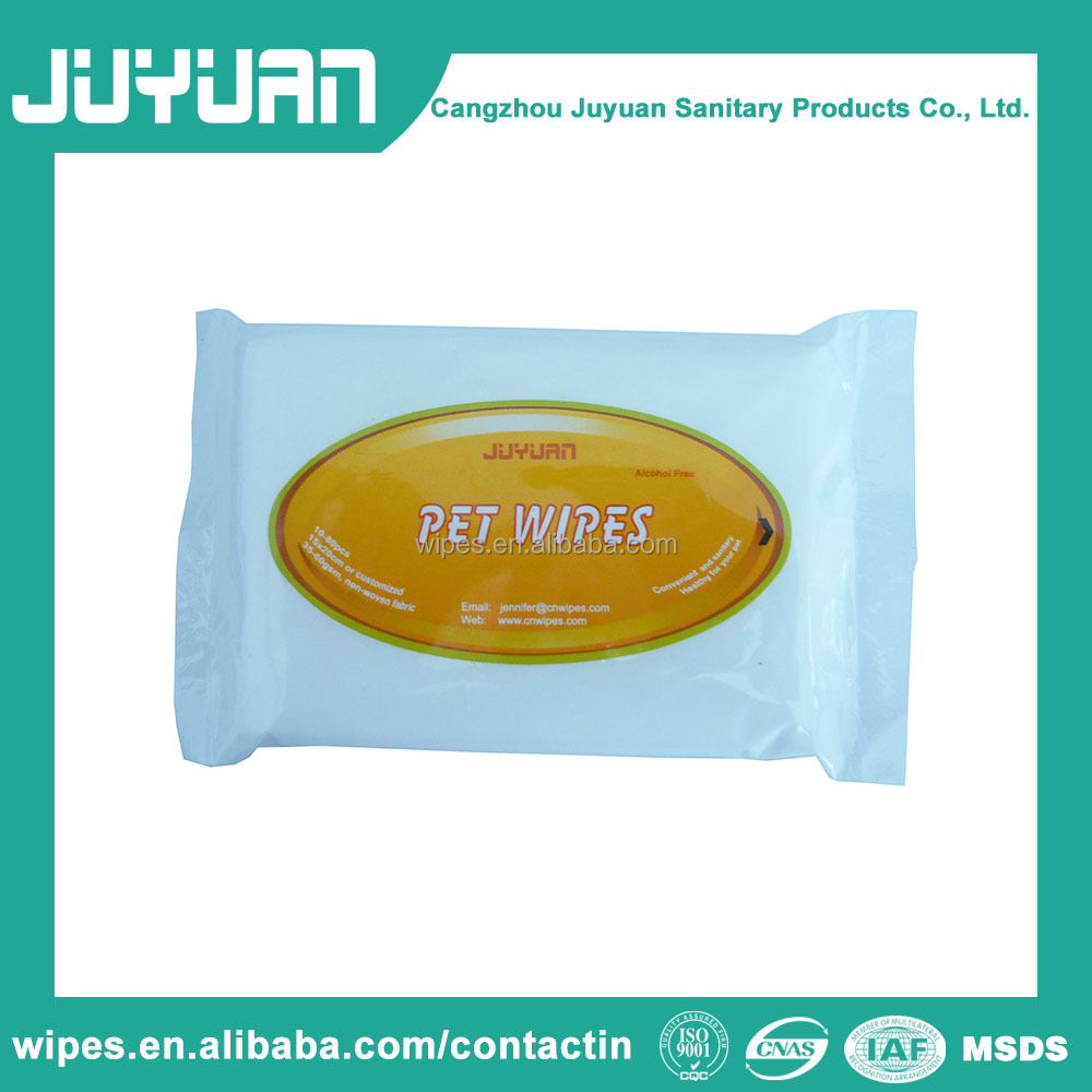 Antibacterial the best japan wet tissue and pet towels cleaning wipes