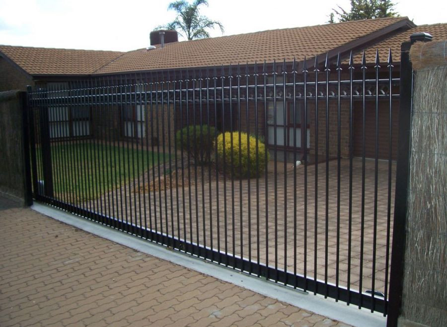 Hot selling driveway sliding gate for community buy
