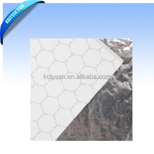 Honeycomb Design Aluminum Foil Food Paper Wrap