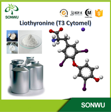 Supple fresh 99% Liothyronine sodium / Cytomel / T3 with cas 55-06-1 in stock immediately delivery