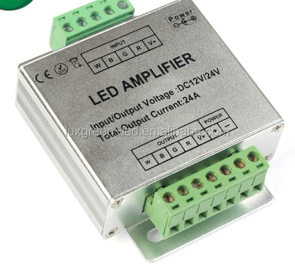 4CH RGBW LED Amplifier for led strips