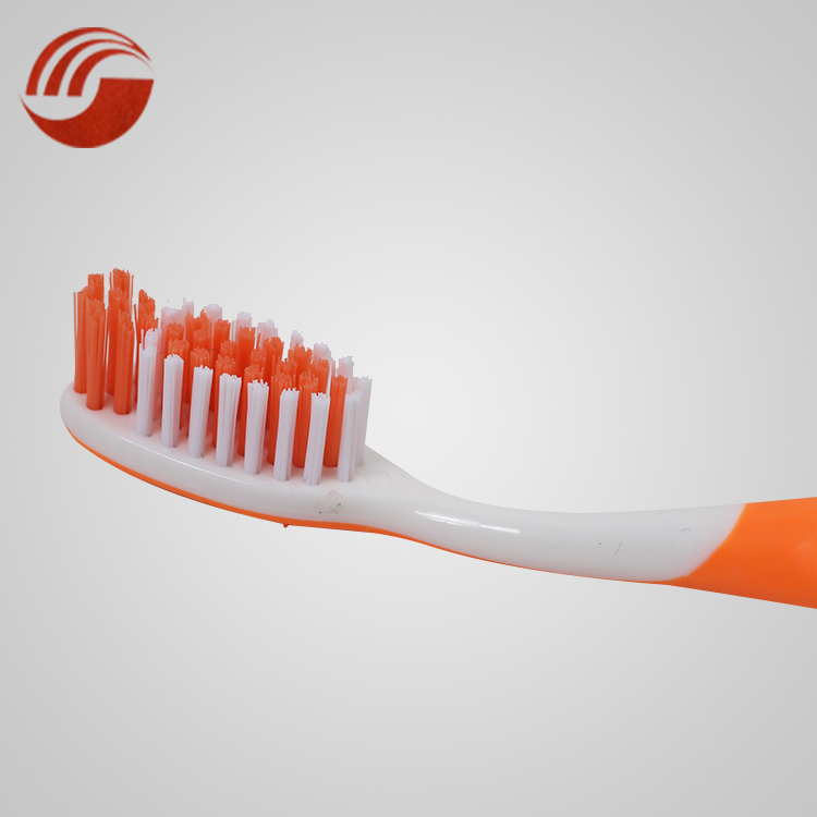 Sharp silk brush hair double color hotel toothbrush