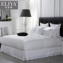 Designs Iso9001 China Supplies 100% Cotton Fitted King 5 Star White Quilt Bedding Set Bed Sheet Hotel