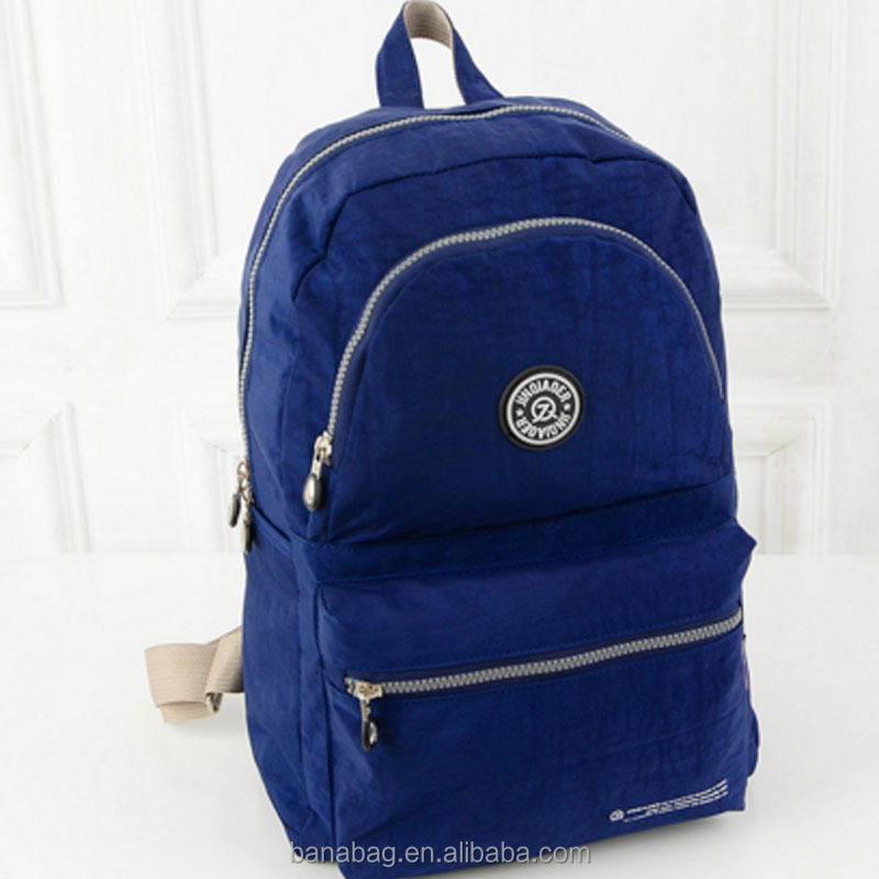 High Quality Custom Design Nylon Backpack Custom Logo Cheap School Back Pack