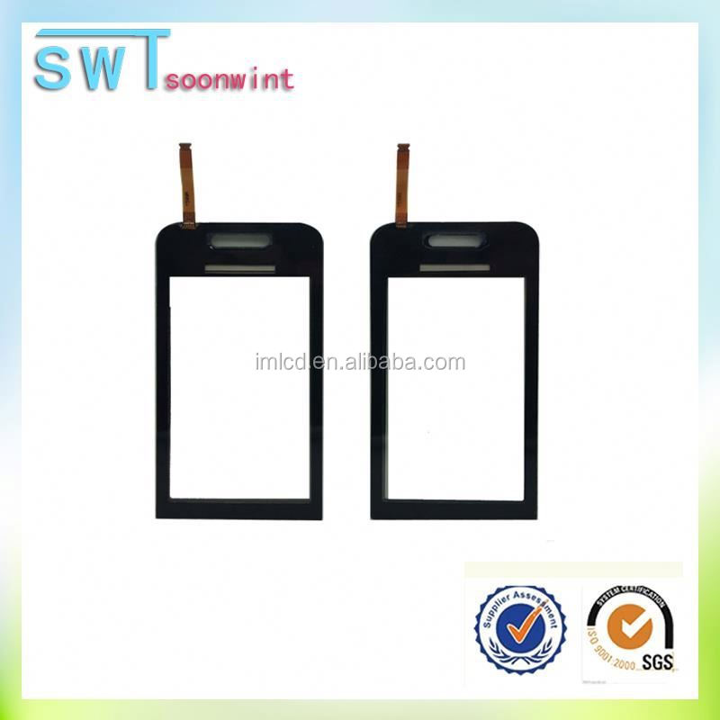 High quality cellphone touch screen digitizer for samsung s5230 paypal is accepted