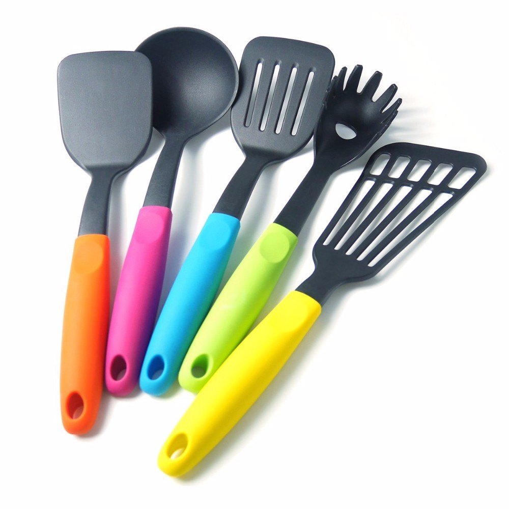Food grade certificat ecofriendly silicone kitchen utensil set cooking accessories