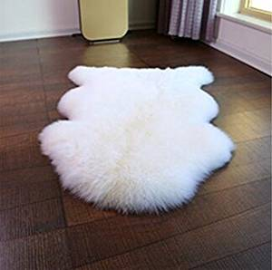 Get Quotations Chenille Jiachuan Nature Australian Baby S Sheepskin Rugs For Home Decoration Rug 70cmx100cm