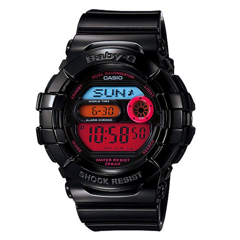 e5b13753faf3 Get Quotations · Casio Baby-g Big Size Dual Illuminator Limited Edition  Watch Bgd140-1bdr