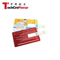USB Card-9 Card Style credit card shape flash drive Promotional usb business card
