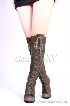 Thigh High Latex Boots - Buy Thigh High Latex Boots Product on ...