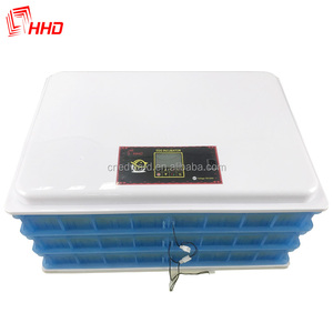 HHD brand 24 eggs automatic egg incubator price india /chicken egg hatchine machine price