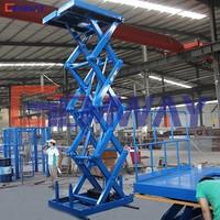 Manual material warehouse loading unloading services lift platform