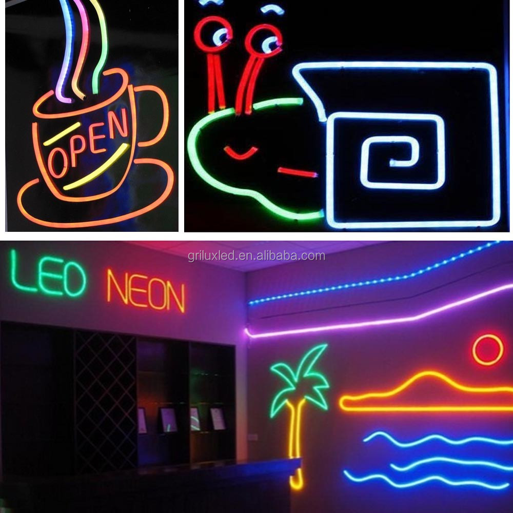 New design 20m neon strip led letter sign neon lights for casino & bar CE&RoHS