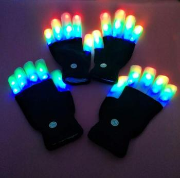 Best Gifts To Kids Led Glowing Gloves Party Awesome Gift Christmas