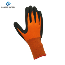 coated cheap latex gloves with nitrile coating