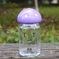 Cute Lovely 350ml Outdoor Portable Sports Cycling Camping Bicycle Plastic School Kids Mushroom Water Bottle High