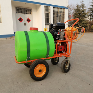 Stainless steel water flat fan turf sprayer