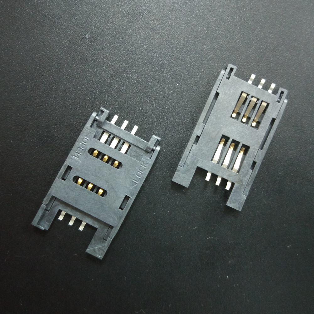China Alibaba 8 Pin Connector Terminal Pin Connector SIM Card Connector For Phone