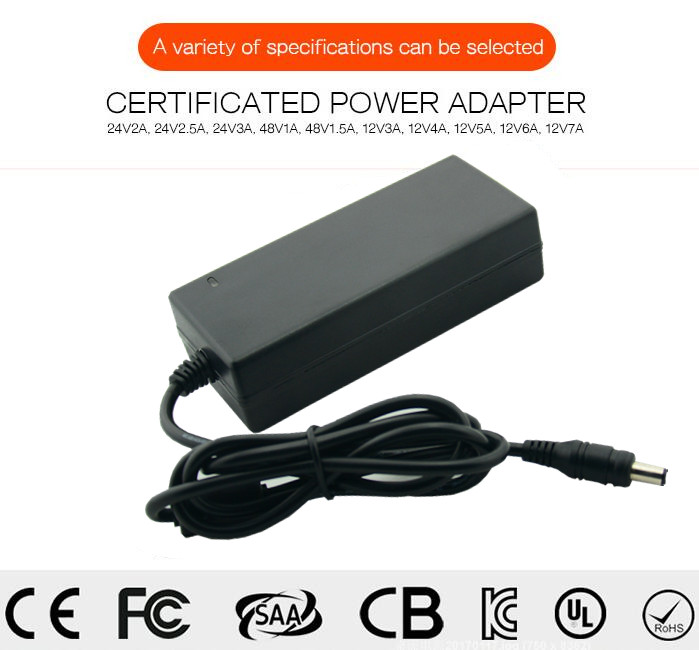 12V 5A AC/DC power adapter Level VI 6 Energy Efficiency