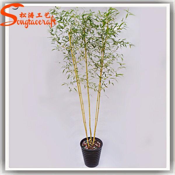 Bamb afortunado artificiales rbol planta de bamb grande - Arboles artificiales grandes ...