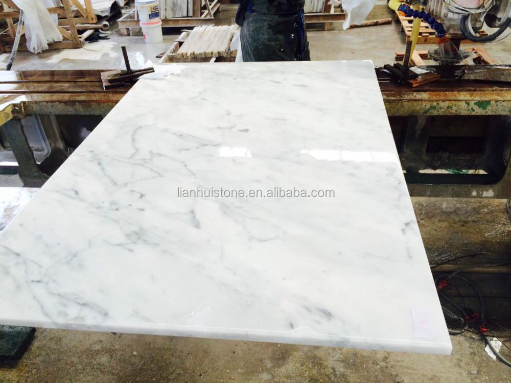 Blanco de carrara marmol prefabricado laminado cocina - Encimeras de marmol precios ...