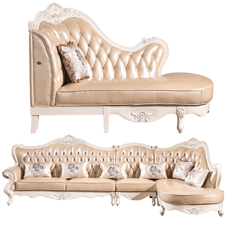 China Hot Selling Classic French Divan Living Room Furniture <strong>Sofa</strong> Designs and Prices