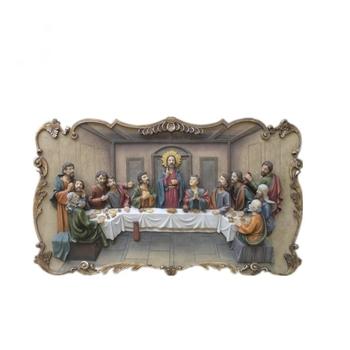 28 Last Supper Sculpture Resin Wall Art Hanging Decoration