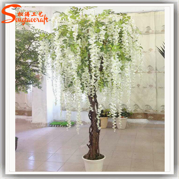 Crystal wedding tree centerpieces artificial flower wedding blossom crystal wedding tree centerpieces artificial flower wedding blossom tree fake trees for indoor wedding decoration junglespirit Gallery